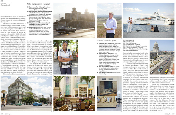 Havana, Cuba for Monocle | Corey's Fishing News