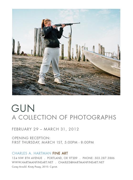 Gun - Charles A. Hartman Fine Art - Corey Arnold