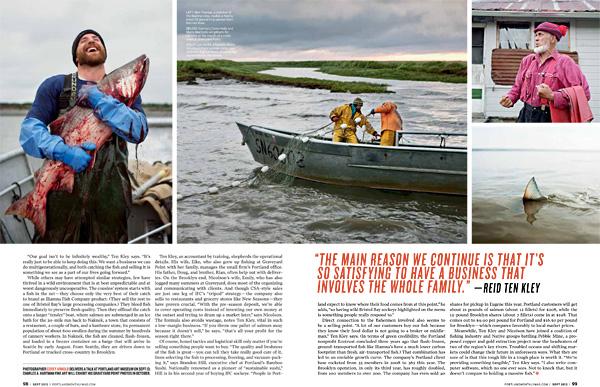 Tim Sohn, Corey Arnold, Bristol Bay, Iliamna Seafood